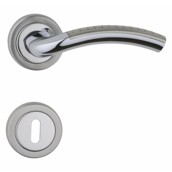 ANIKA króm-szatén nikkel ajtókilincs