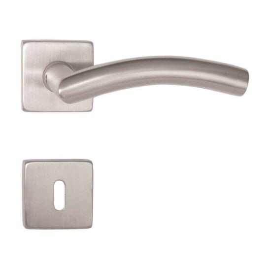 ARCO rozsdamentes acél ajtókilincs négyzetrozettával