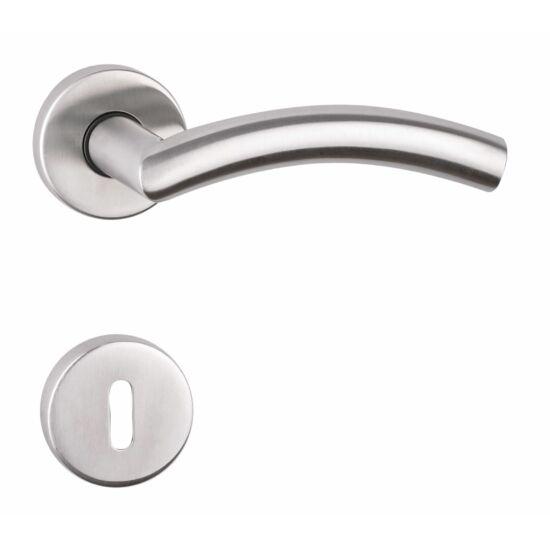 ARCO rozsdamentes acél ajtókilincs körrozettával