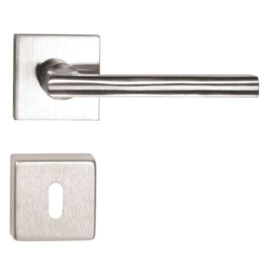DANIELA ECO rozsdamentes acél ajtókilincs négyzetrozettával