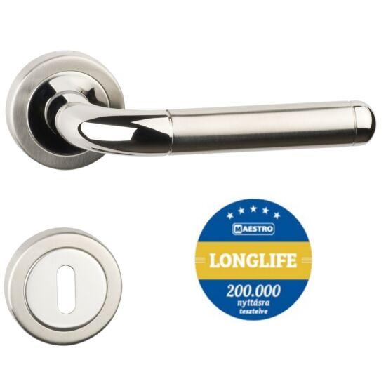 GIULIA Pro Object 3 rozsdamentes acél ajtókilincs körrozettával