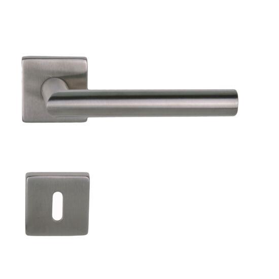 Thema Pro rozsdamentes acél ajtókilincs négyzetrozettával