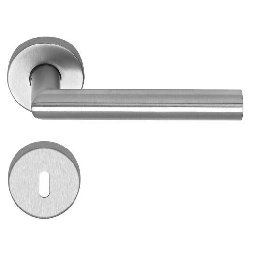 Thema Pro rozsdamentes acél ajtókilincs körrozettával