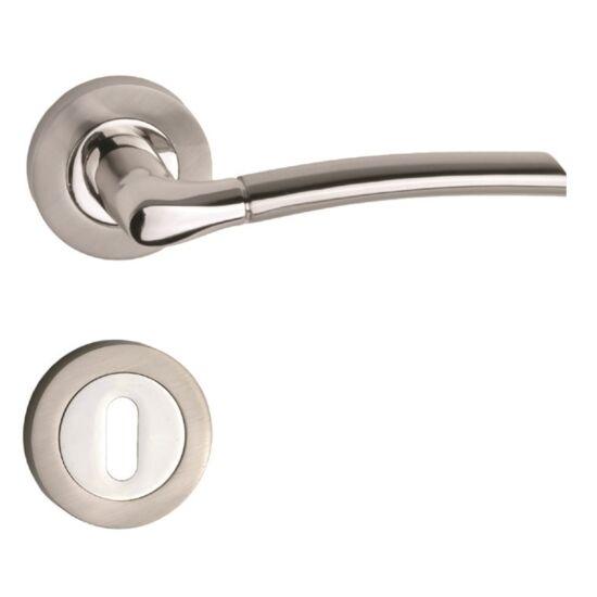 VESTA króm-sztén nikkel ajtókilincs