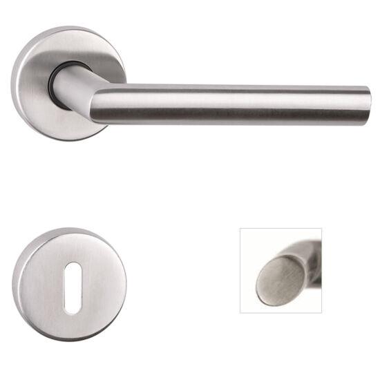 ELYPSE rozsdamentes acél ajtókilincs körrozettával