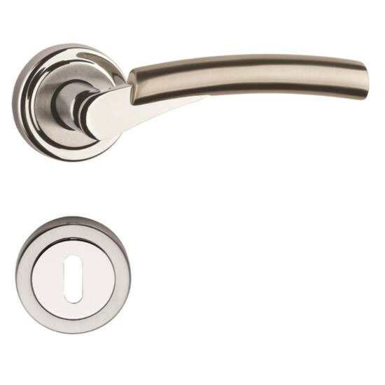 ESPRIT VARIO króm-sztén nikkel ajtókilincs körrozettával