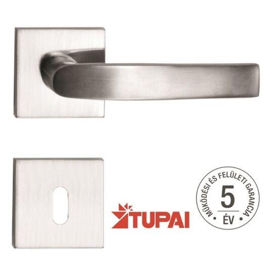 LAGUNA rozsdamentes acél ajtókilincs négyzetrozettával