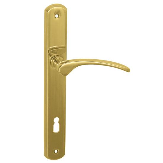 SOFIA réz hosszú címes ajtókilincs